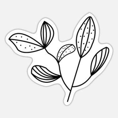 Plant-grounds plant - Sticker