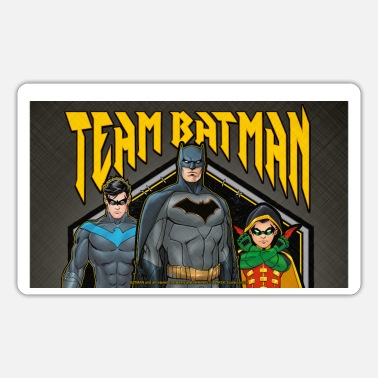 Batman Team Nightwing and Robin - Sticker