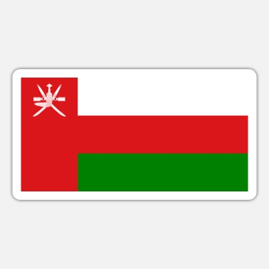 Oman Oman flag - Sticker