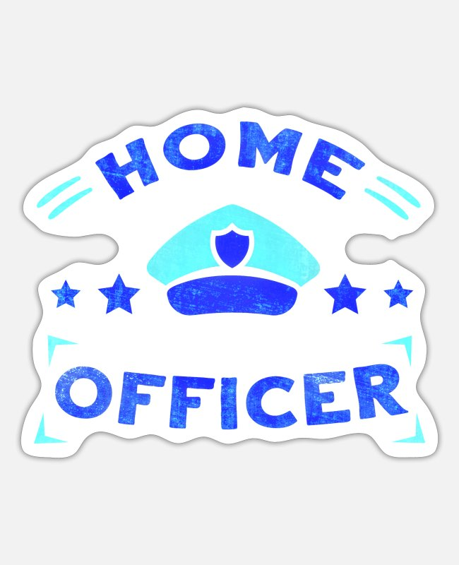 Epidemic Stickers - Home office work job home office gift - Sticker white matte
