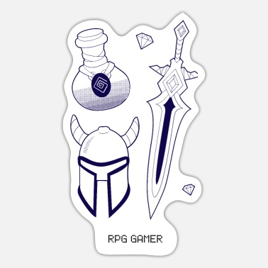 Rpg RPG gamer - Sticker