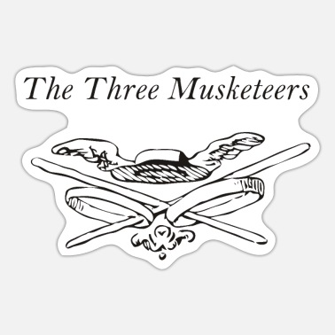 Historical Fencing The Three Musketeers - The Three Musketeers - Sticker