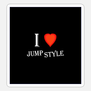 Jumpstyle I love Jumpstyle - Sticker
