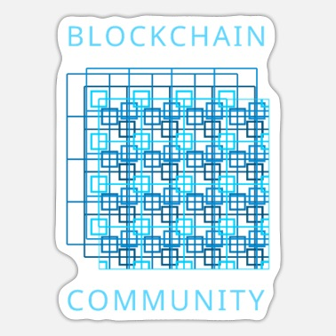 Community Blockchain-Community - Sticker