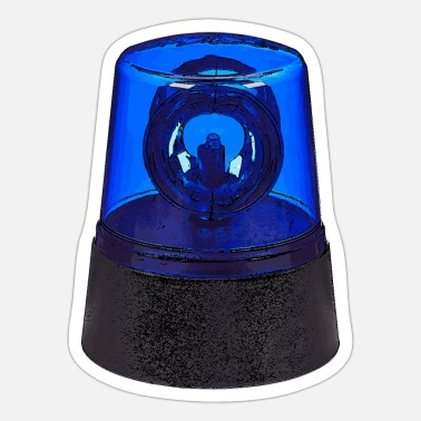 Blue Light blue light - Sticker