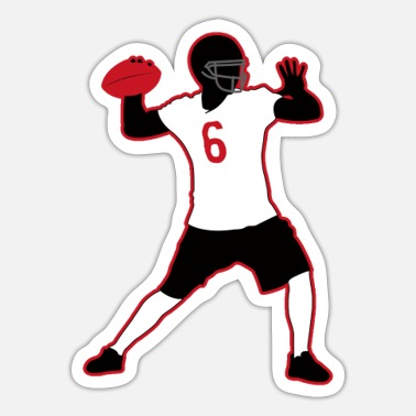 Rugby Fodbold Rugby Player Rugby Rugby Hjelm Amerikansk fodbold - Sticker