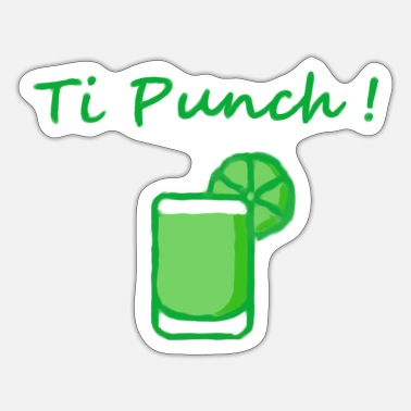Punch Ti punch! - Sticker