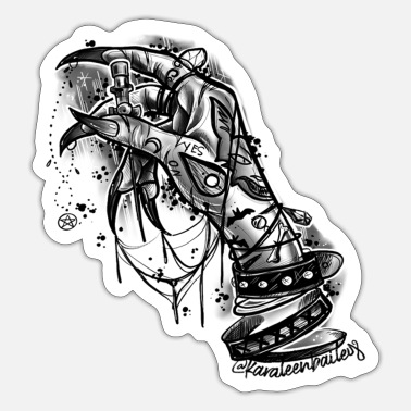 Witchy Witchy Stichy - Sticker