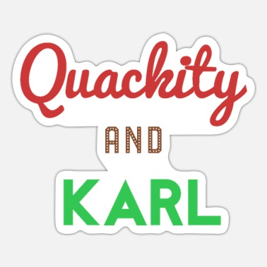Karla Quackity And KarL - Sticker
