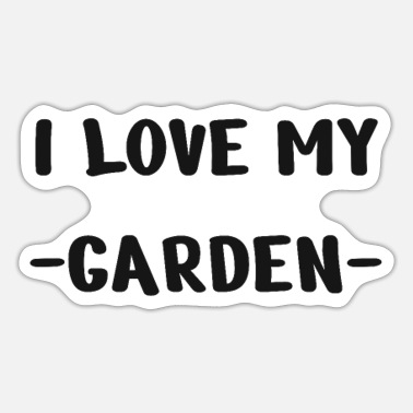 Tuin tuin- - Sticker
