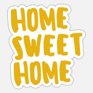 At Home HOME SWEET HOME - Sticker