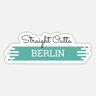 Festdag Berlin t-shirt - Sticker
