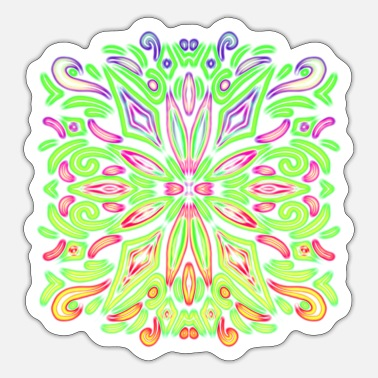 Burst Neon Burst - Sticker