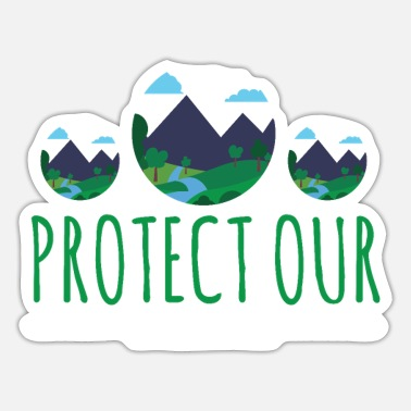 Helped Dome Protect Our National Parks Nature Lover Gift - Sticker