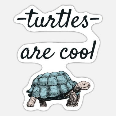 Turtle turtle - Sticker