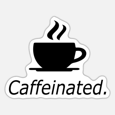 Caffeine Caffeinated - Sticker