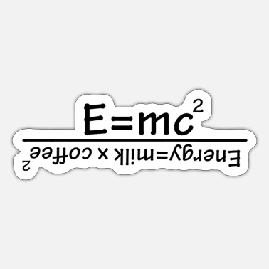 Mc E = mc² - Sticker