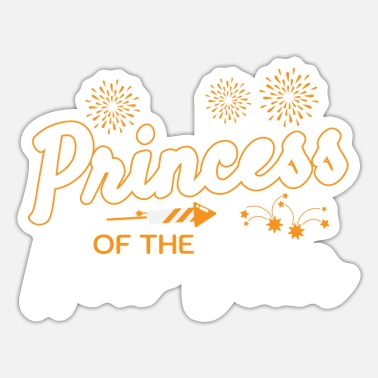Prinzessin-im-himmel Prinzessin Of The New Year 2020 1. Januar - Sticker