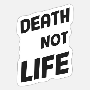 death does not fear - Sticker
