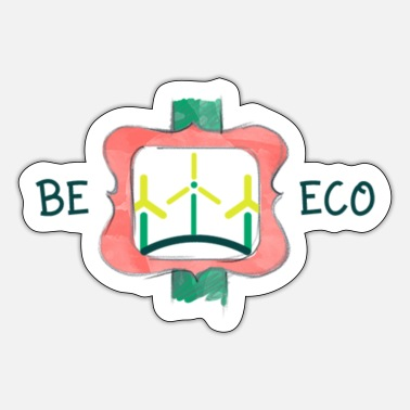 Eco Wees Eco - Sticker