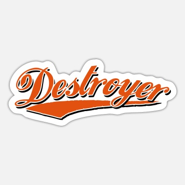 Ctf destroyer destroy destroyer crash bandit - Sticker