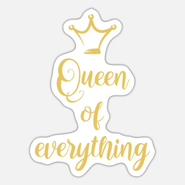 Krone Queen of everything - Sticker