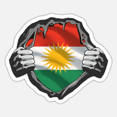 Kurds Kurdistan Kurd Kurds Kurdish Gift - Sticker