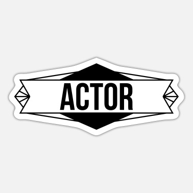 Acting Actor - Acting - Sticker