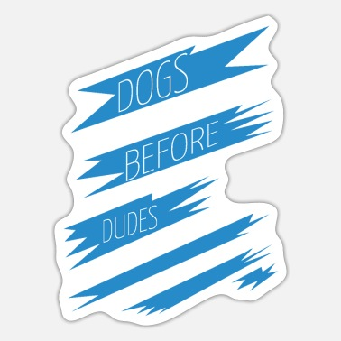 Doggie School wiener dog funny animals dog paw doggie school pet - Sticker