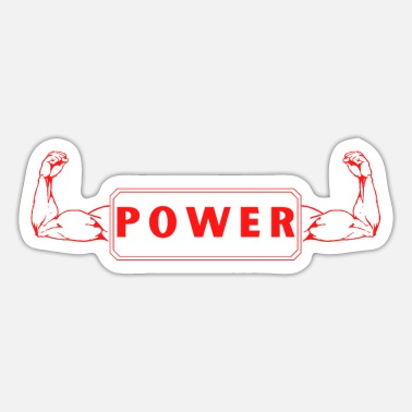 Arme Power Arme Muskeln muscle arms - Sticker