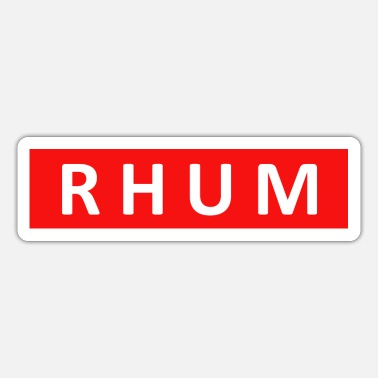Bordeaux RHUM - Sticker