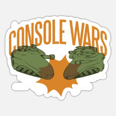 Console Console Wars Console Controller Fighting - Sticker