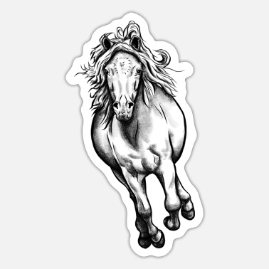 Galopp Pony Galopp - Sticker