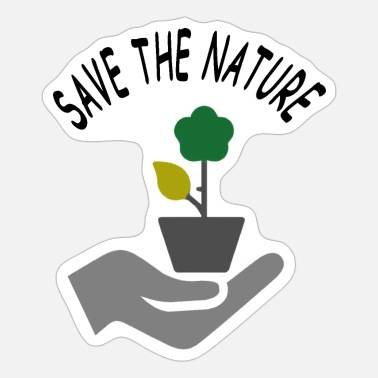 Nature Conservation Save the Nature Conservation Conservation Tree - Sticker