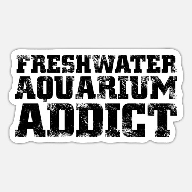 Freshwater the freshwater aquarium - Sticker