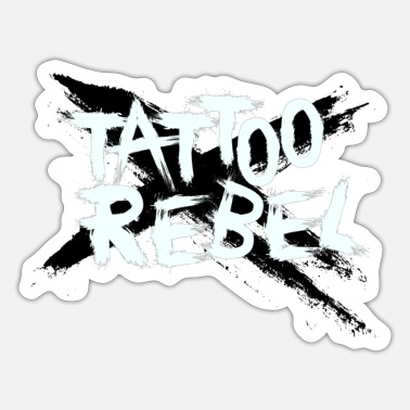 Tattoo TATTOO REBEL Black X - Sticker