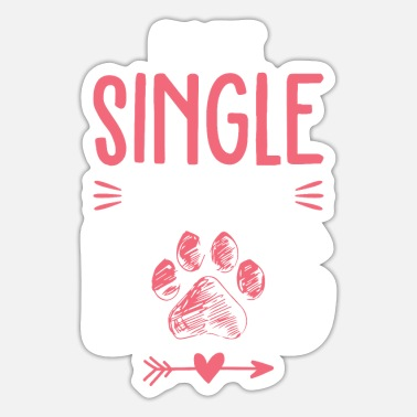 Dog Quote Dog quote single saying - Sticker