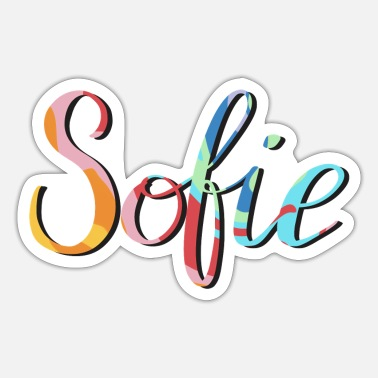 Name Sofie, je naam! - Sticker