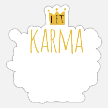 Modern karma - Sticker