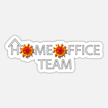 Dusseldorf HOMEOFFICE TEAM - Sticker