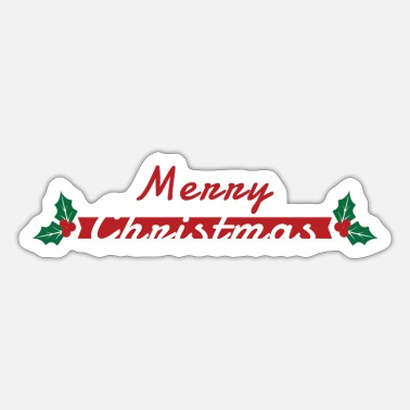 Rudolf Merry Christmas - Sticker