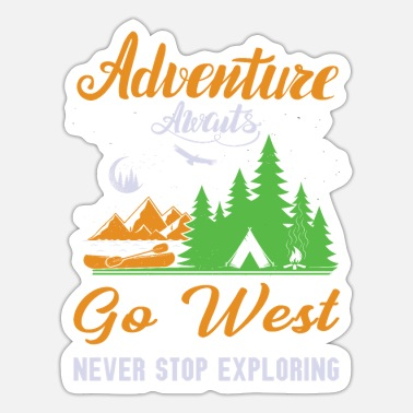 Innsbruck The adventure awaits you. - Sticker