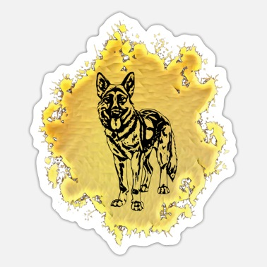 Shepherd Dog Shepherd dog - Sticker
