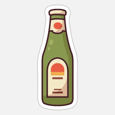 Beverage Alcoholic Beverage - Sticker