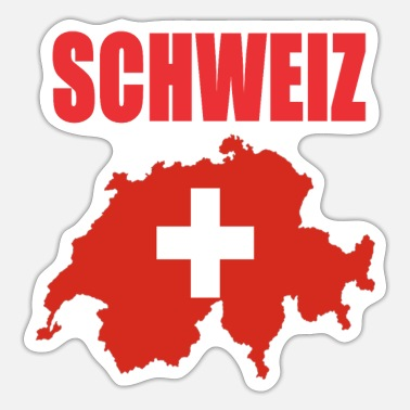 Kindershirt Schweiz Design - Sticker