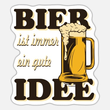 Gute bier - Sticker