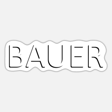 Bauer Bauer - Sticker