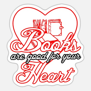 Book books medicine reading reader saying - Sticker