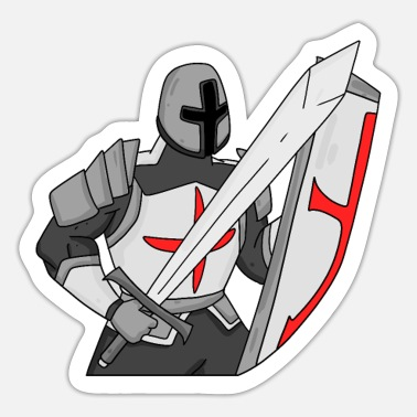 Knights Templar Knights Templar Knight Middle Ages - Sticker