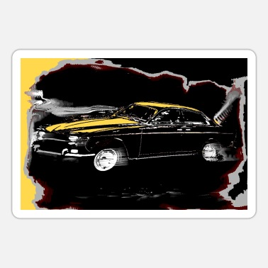 Streaker PENDECH Car Vintage Art 60 70. - Sticker